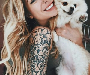 tattoo, dog, and Tattoo Designs image