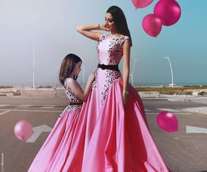 dress, pink prom dresses, and prom dresses cheap image