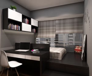 bedroom, decor, and ideas image