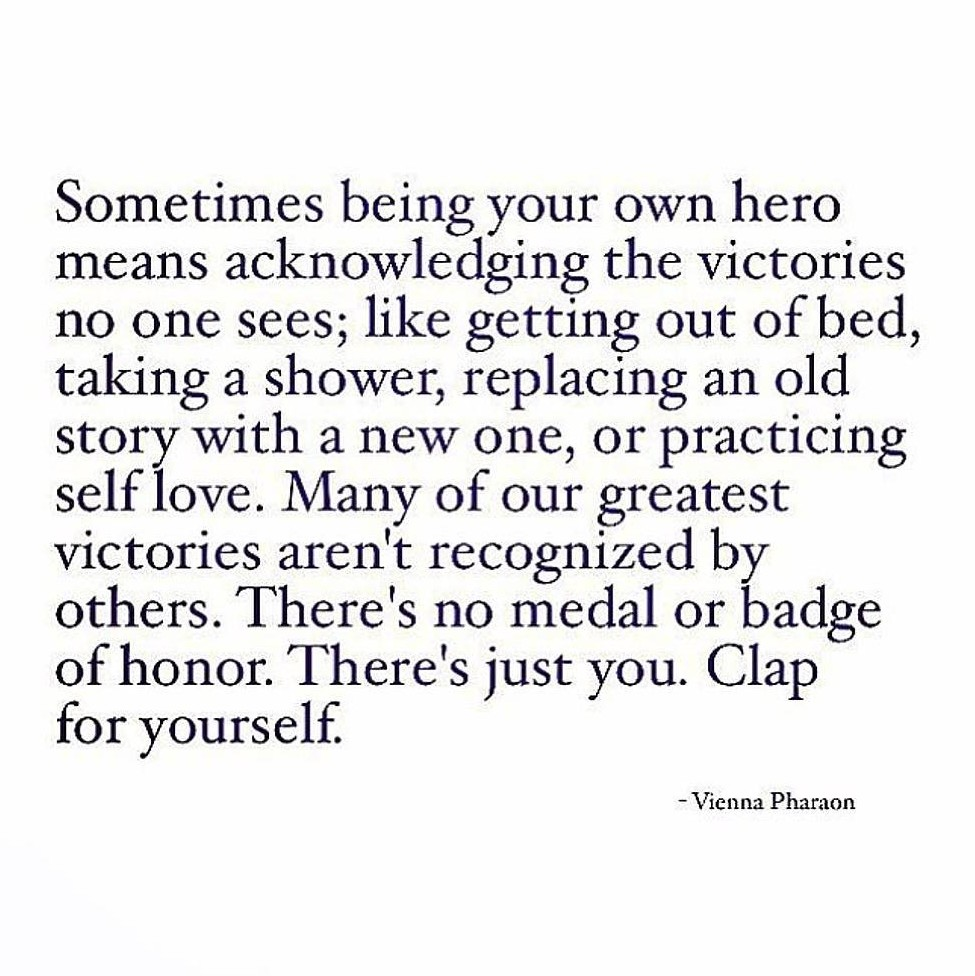 Be Your Own Hero On We