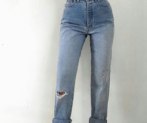 jeans, aesthetic, and fashion image