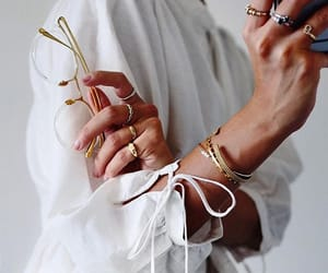 accessories, blouse, and bracelets image