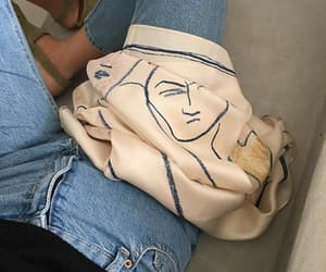 style, art, and jeans image