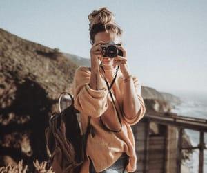 camera, wanderlust, and girl image