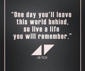 avicii, quotes, and Lyrics image