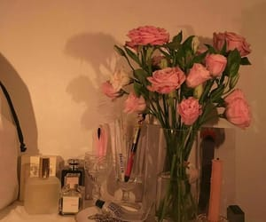 flowers, perfume, and girly image