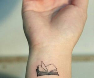 book and tattoo image