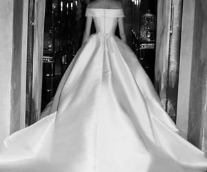 elie saab and wedding dress image