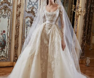 wedding, bridal, and elie saab image