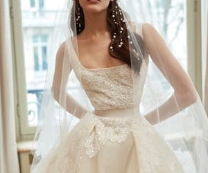 bride, elie saab, and 2019 image