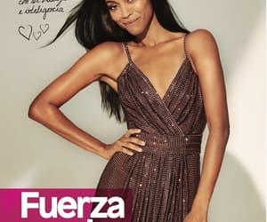actress, latina, and zoe saldana image