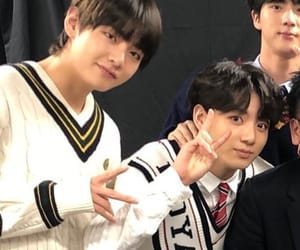 army, bts, and jungkook image