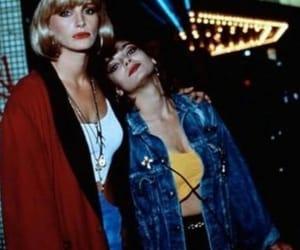90's, actress, and denim image