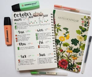 calendar, mine, and october image