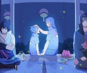 itachi, naruto, and sasuke image