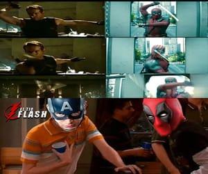 captain america, deadpool, and divertido image