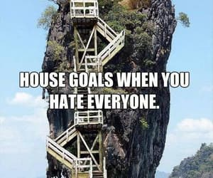 funny, house, and Island image
