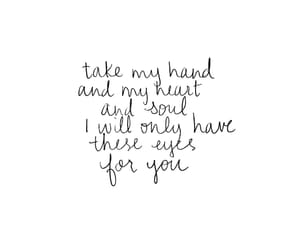 black and white, handwritten, and love quotes image