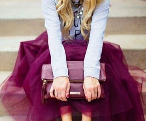 color, tull, and fashion image