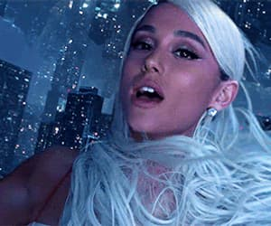 gif, ariana grande, and no tears left to cry image