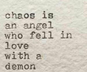 chaos, poet, and demon image
