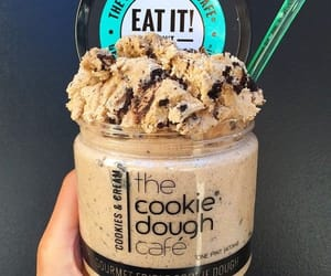 food, cookie, and cookie dough image