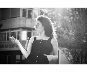 beautiful, black dress, and switzerland image