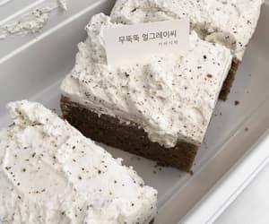 food, minimalism, and cake image