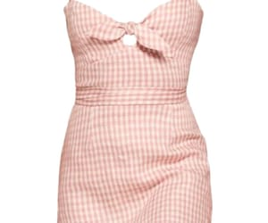 dress, pastel, and pink image