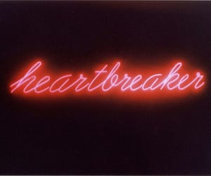 heartbreaker, neon, and light image