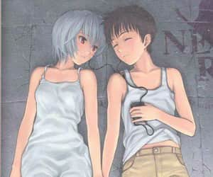 90s, anime, and ayanami rei image