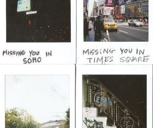 new york, polaroid, and soho image