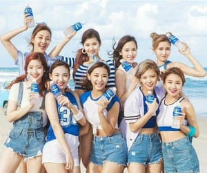 aesthetic, kpop, and blue image