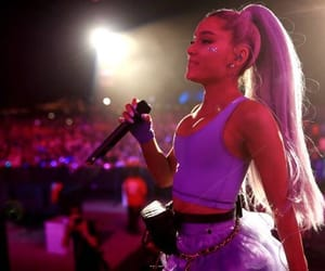 ariana grande, coachella, and no tears left to cry image