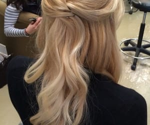 hair, pretty, and hairstyles image