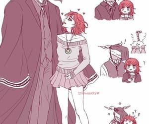 anime, mahoutsukai no yome, and ancient magus bride image