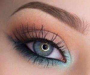 blue, eye, and eyeshadow image