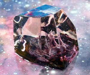 home decor, black crystal, and gifts for her image