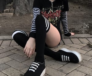 chain, emo, and cute image
