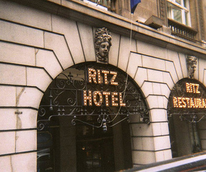 hotel, london, and ritz image