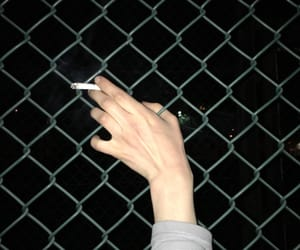 cigarette, tumblr, and grunge image