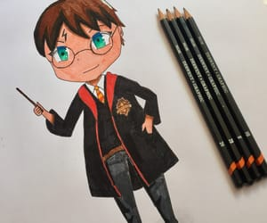art, harry potter, and draw image
