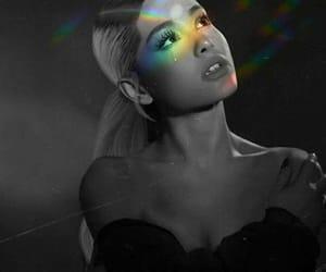 ariana grande, rainbow, and ariana image