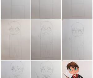 draw, manga, and drawing image