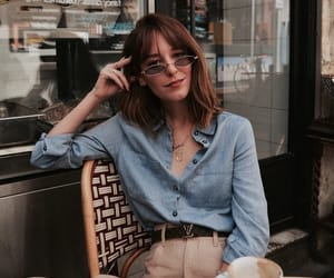 blouse, indie, and fashion image