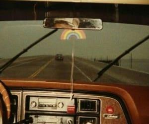 california, journey, and rainbow image
