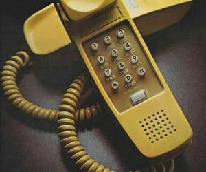 aesthetic, color, and telephone image