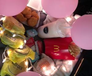 balloons, lights, and McDonald's image