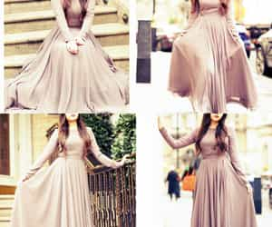 dress, girl, and wowww image