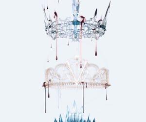 crown, book, and edit image